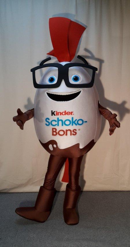 schönen Glanz beste Auswahl an verschiedene Stile Mr. Schoko-Bon Ferrero Schokobon Kinderino Ü-Ei Kostüm ...